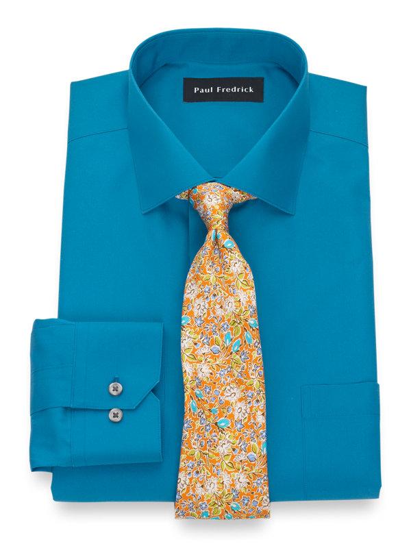 Non-Iron Supima Cotton Solid Dress Shirt