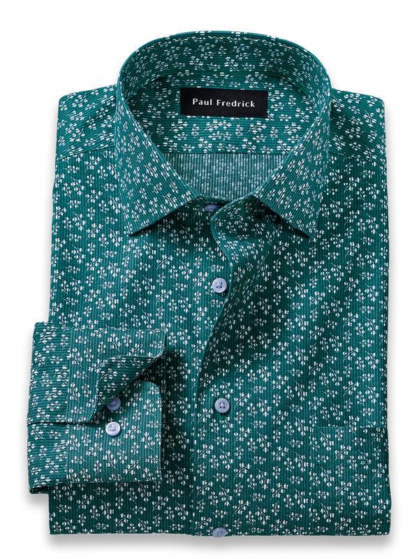 Non-Iron Floral Print Dress Shirt