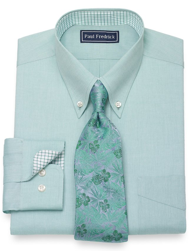 Cotton Solid Dress Shirt