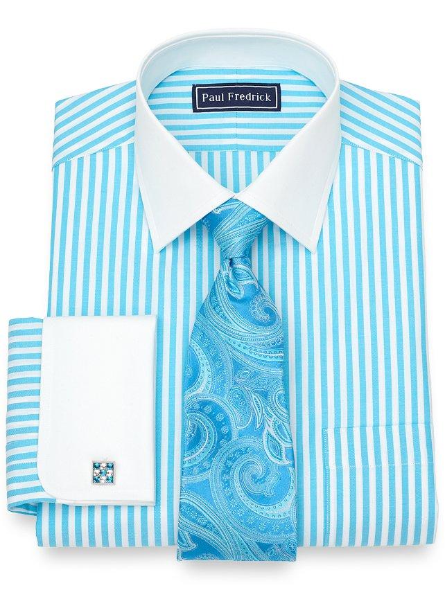 Cotton Bengal Stripe Dress Shirt