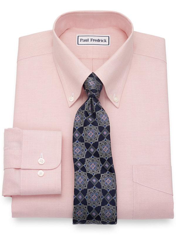 Supima Non-Iron Cotton Solid Dress Shirt