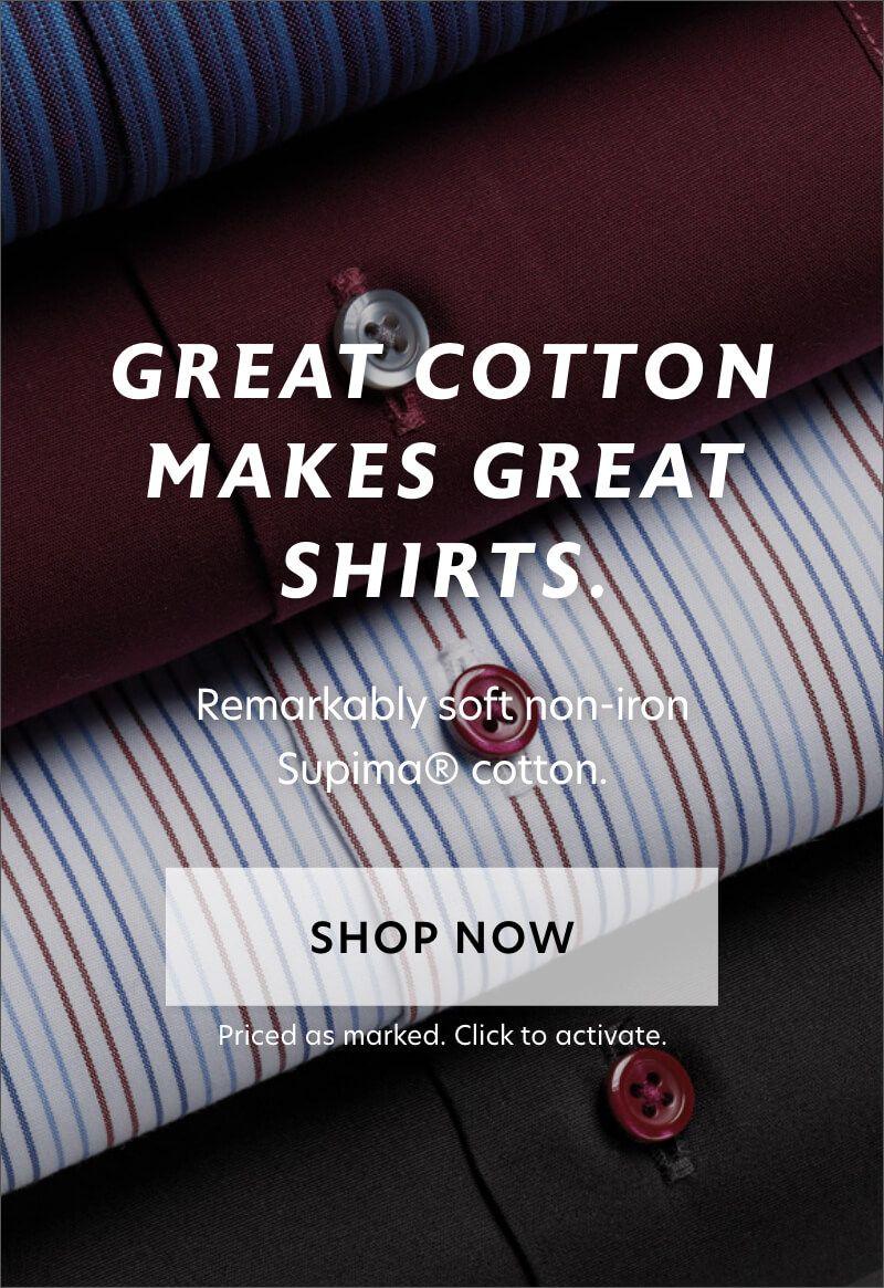 Luxury Supima Shirts