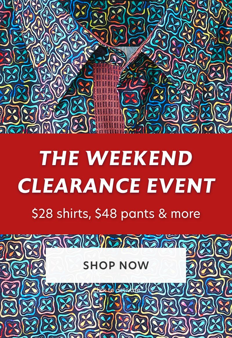 The Weekend Clearance Event