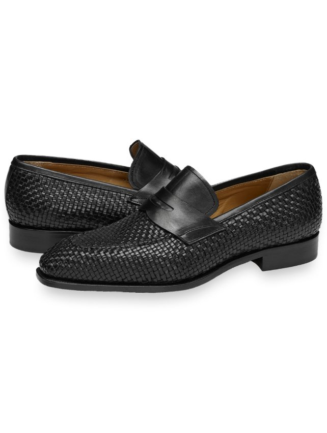 Taylor Woven Penny Loafer