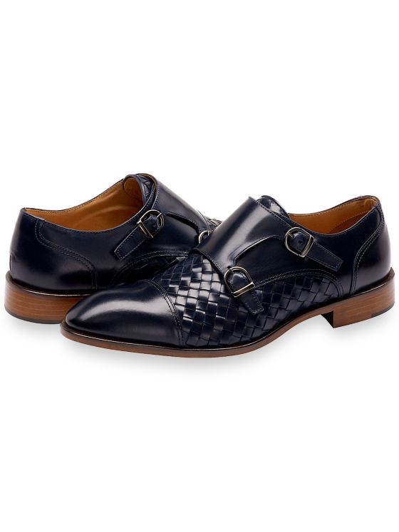 Peter Cap Toe Monk Strap