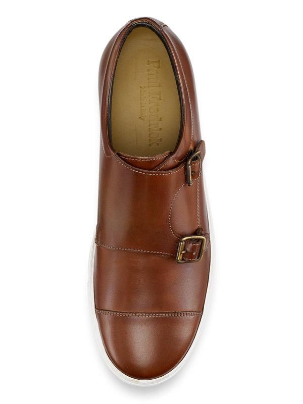 Samuel Cap Toe Double Monk Sneaker