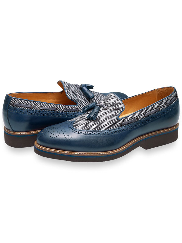 Milo Wingtip Tassel Loafer