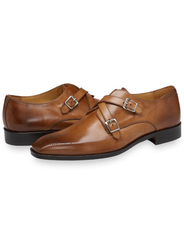 Ashby Double Monk Strap