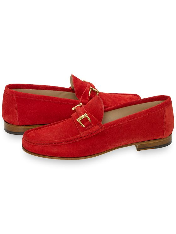 Suede Bit Loafer