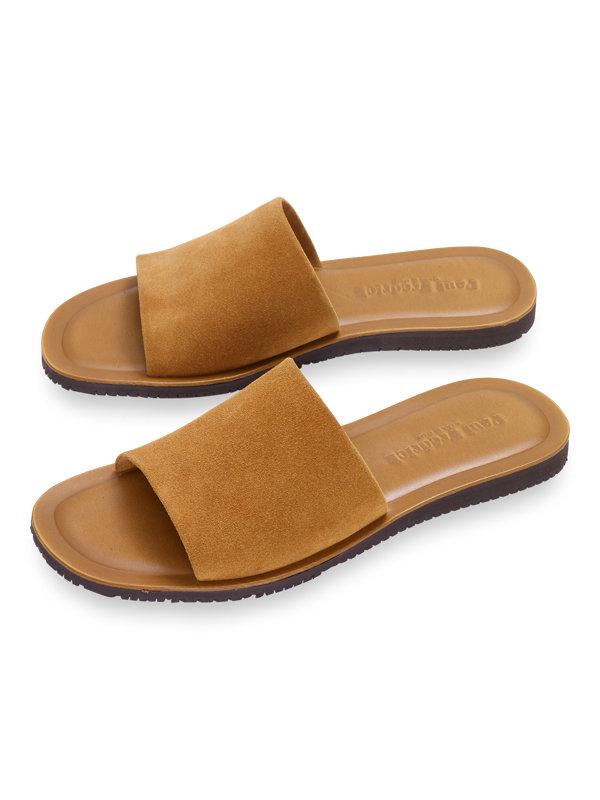 Roman Suede Sandal