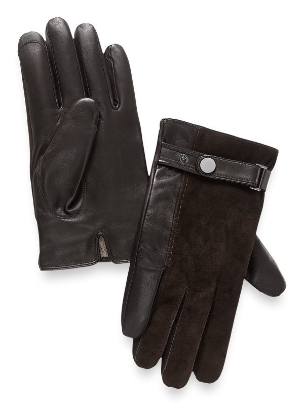 Leather & Suede Glove
