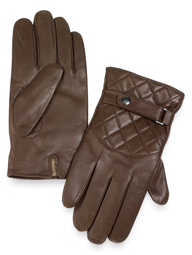 Goatskin Quilted Leather Gloves
