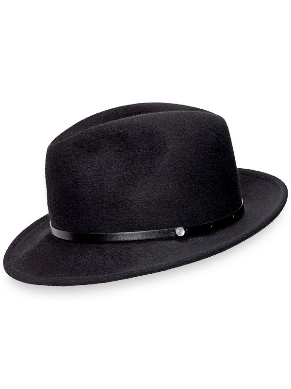 Luxed Finished Wool Fedora