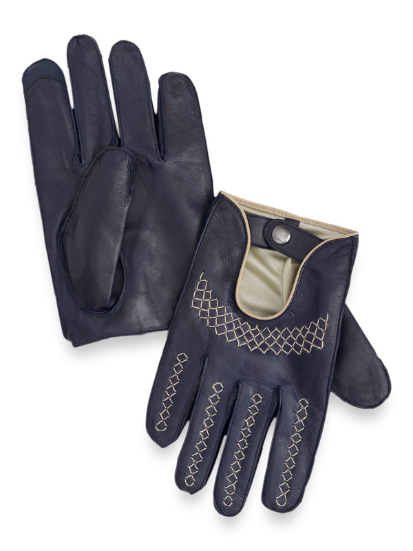Goatskin Leather Driving Gloves