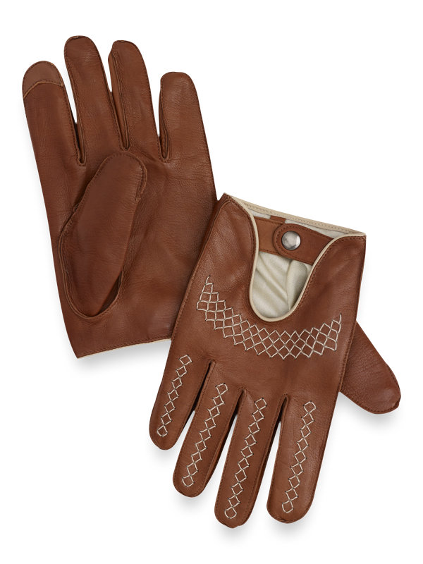 Goatskin Leather Driving Gloves