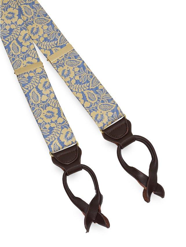 Silk Botanical Suspenders