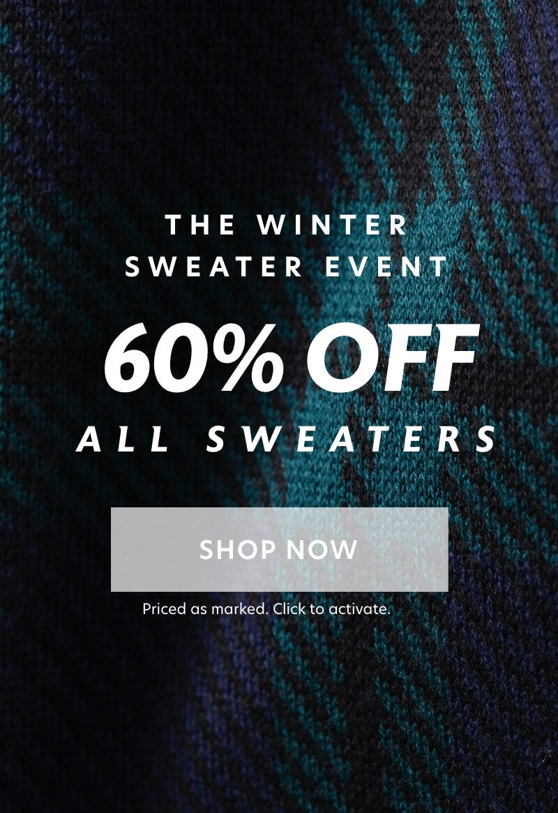 The Winter Sweater Event