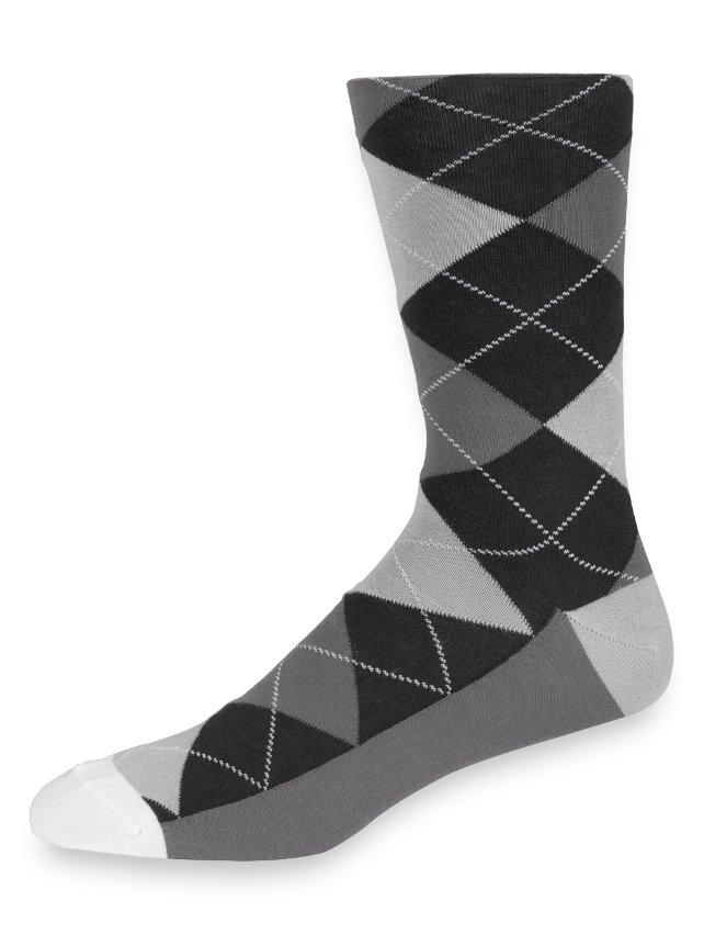 Pima Argyle Socks