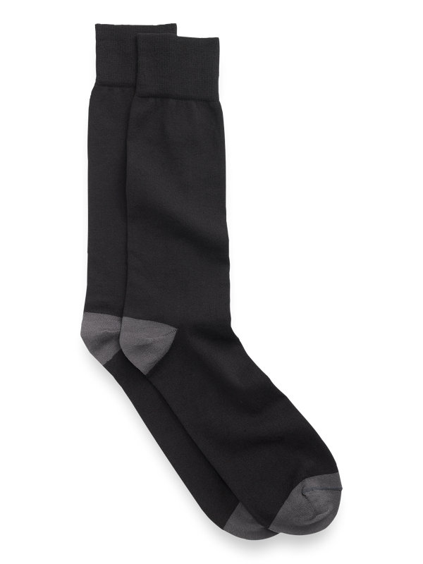 Pima Cotton Solid Socks