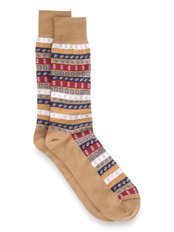Pima Cotton Multi Patterned Socks