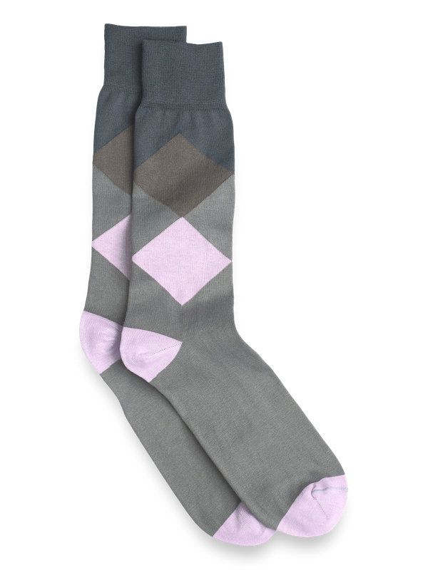 Argyle Pima Cotton Socks