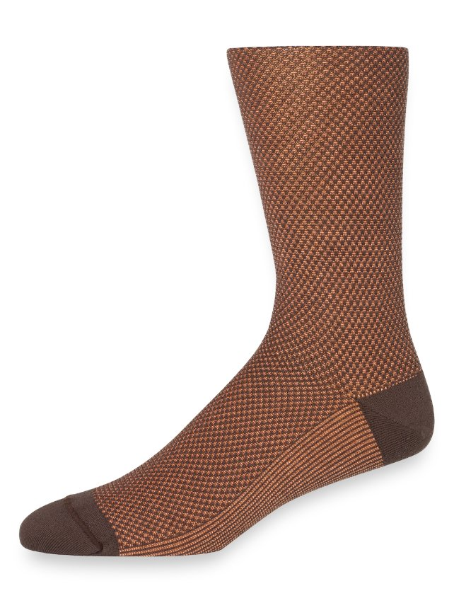 Pima Cotton Birdseye Socks