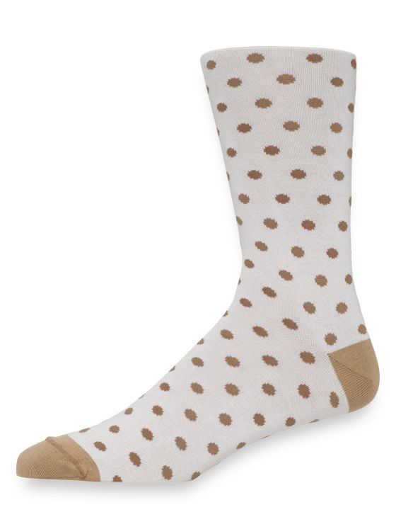 Pima Cotton Dot Socks