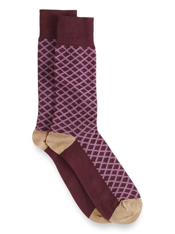 Pima Cotton Argyle Socks