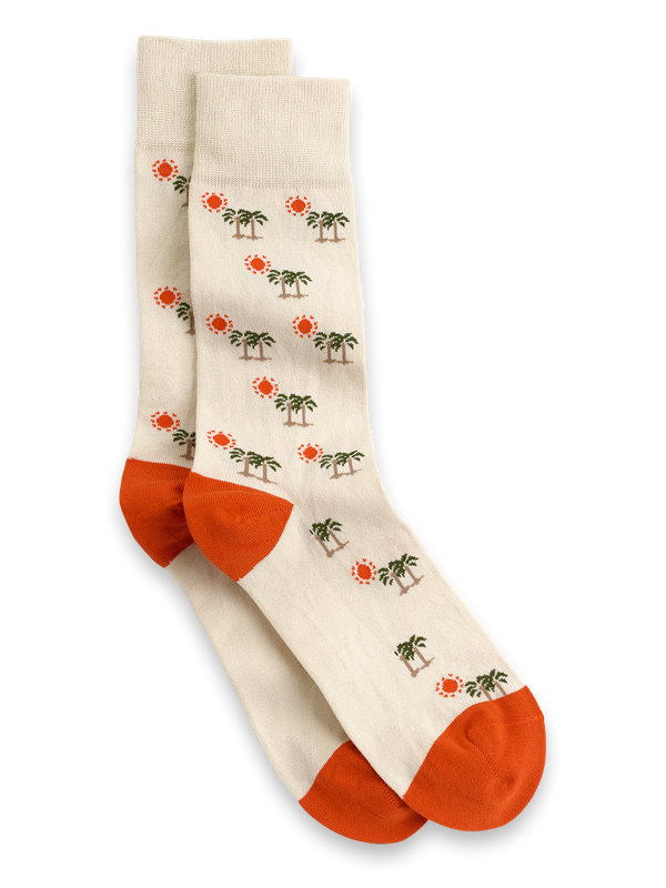 Palm & Sun Pima Cotton Socks