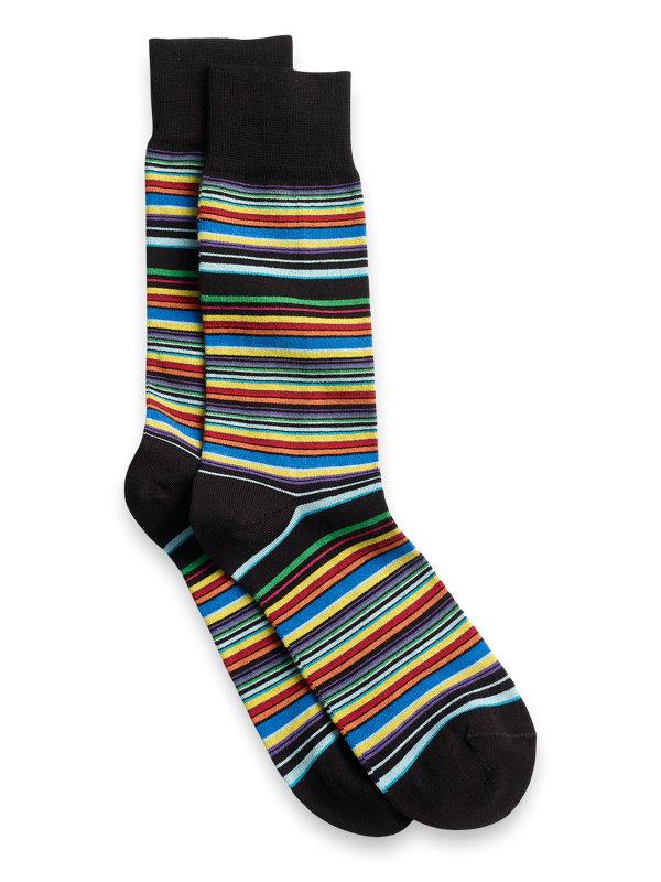 Stripe Pima Cotton Socks