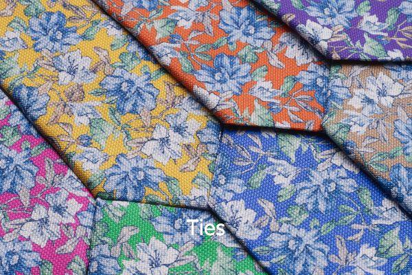 Italian Floral Ties