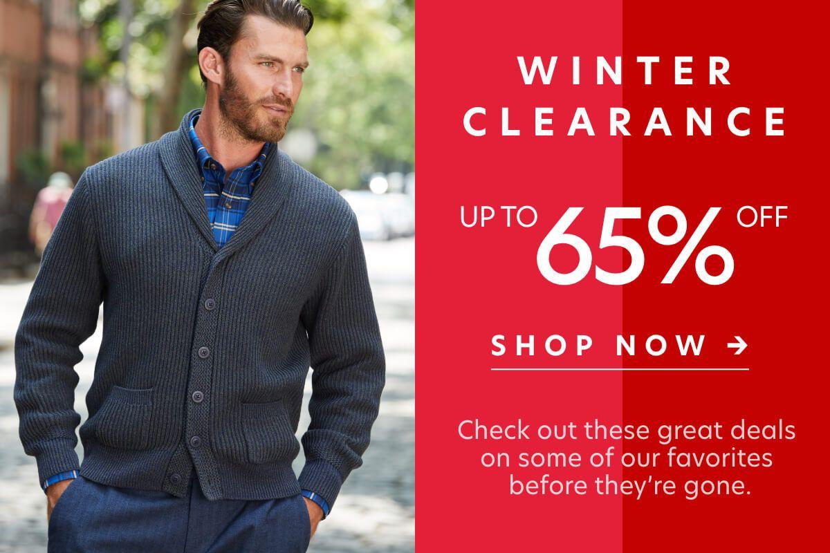 Winter Clearance Flash Sale