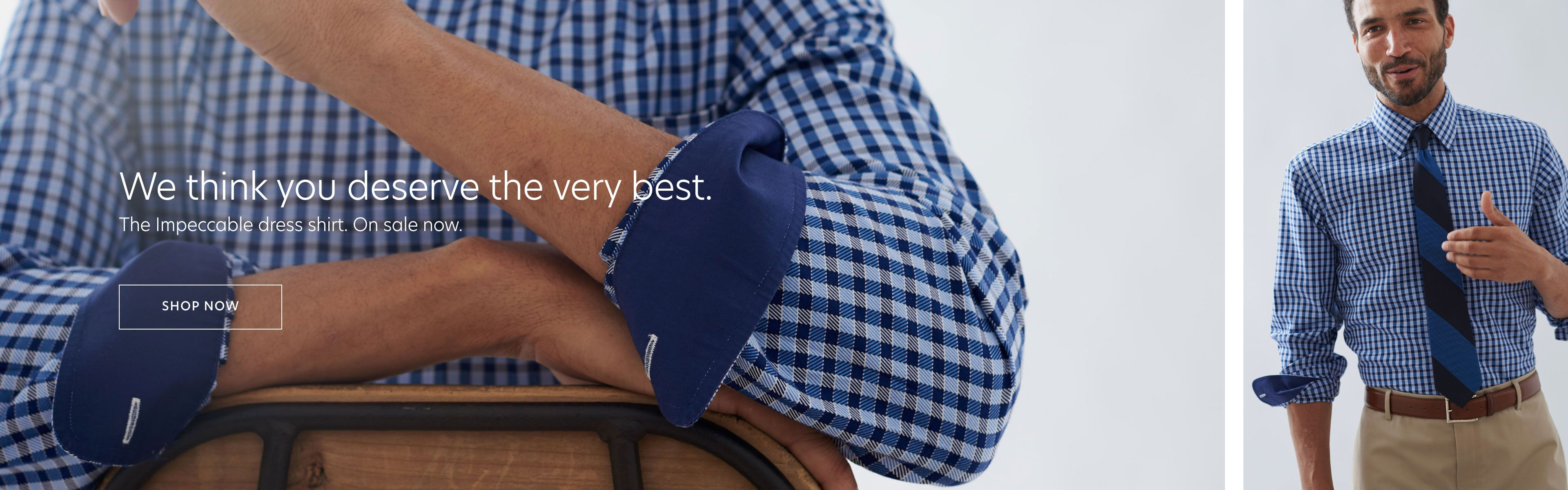 Non-Iron Impeccable Dress Shirts