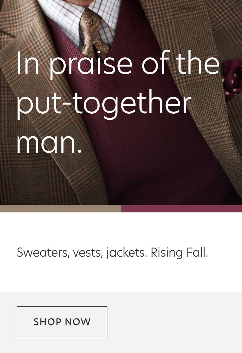 Fall Sweaters & Sport Coats