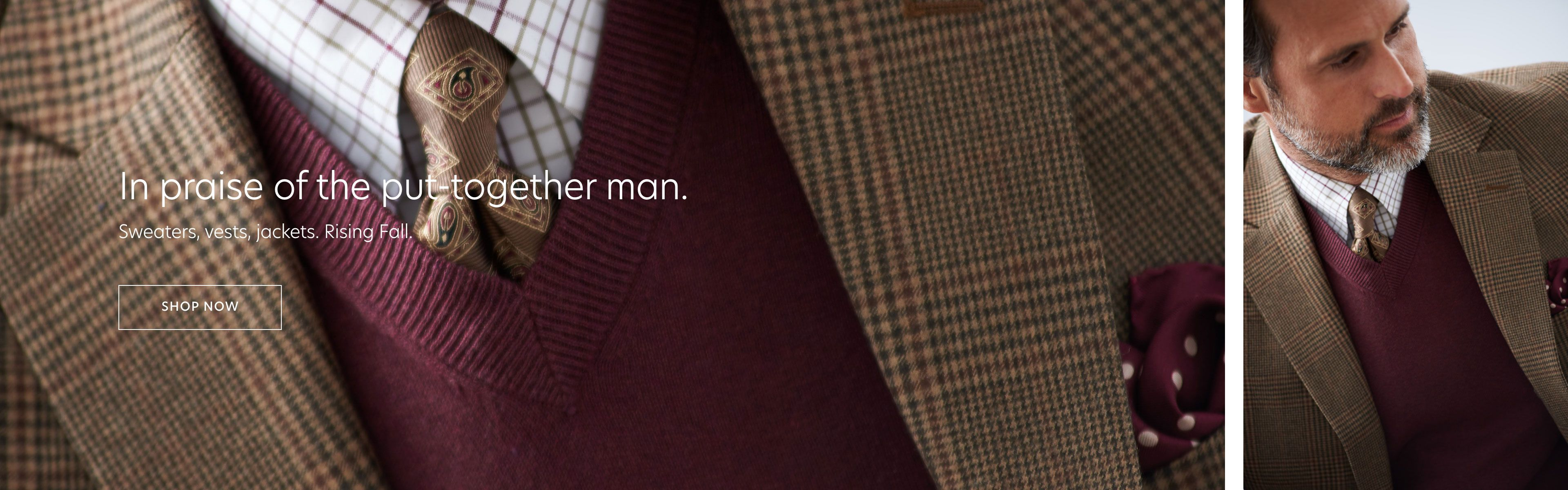 Fall Sweaters & Sport Coats