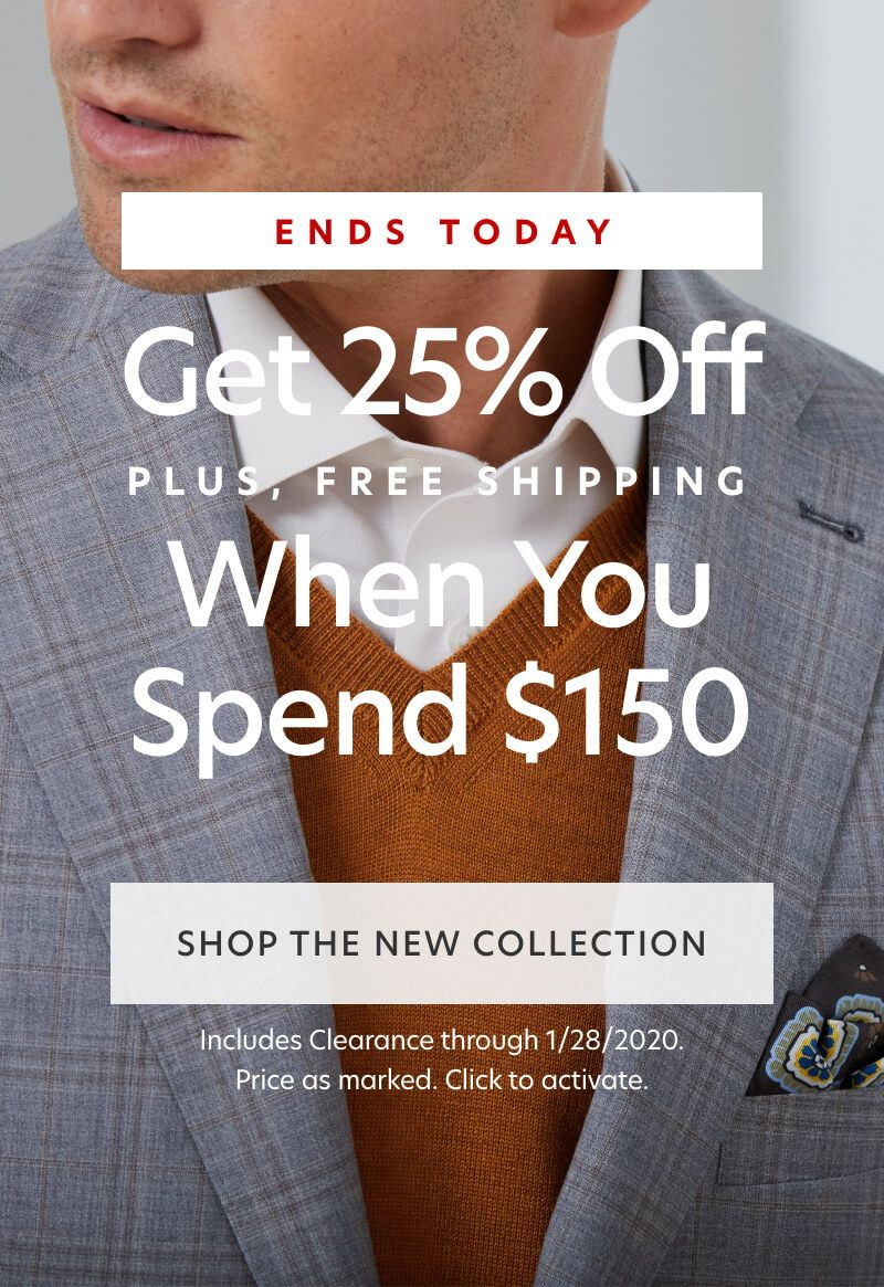 25% Off $150 (with Clearance)