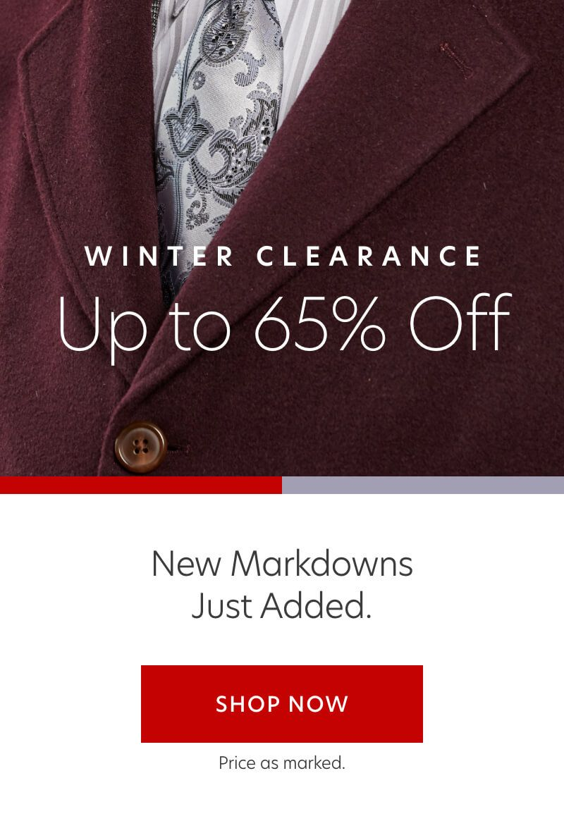 Winter Clearance Event