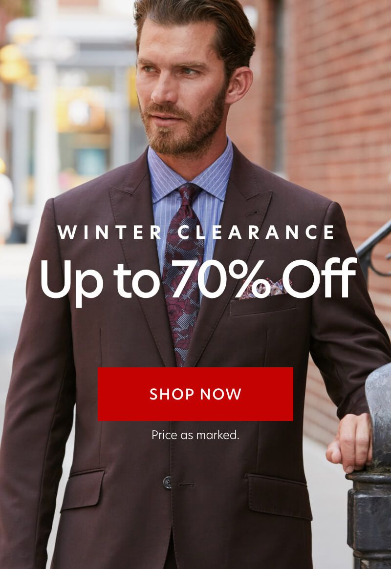 Clearance up to 65% off