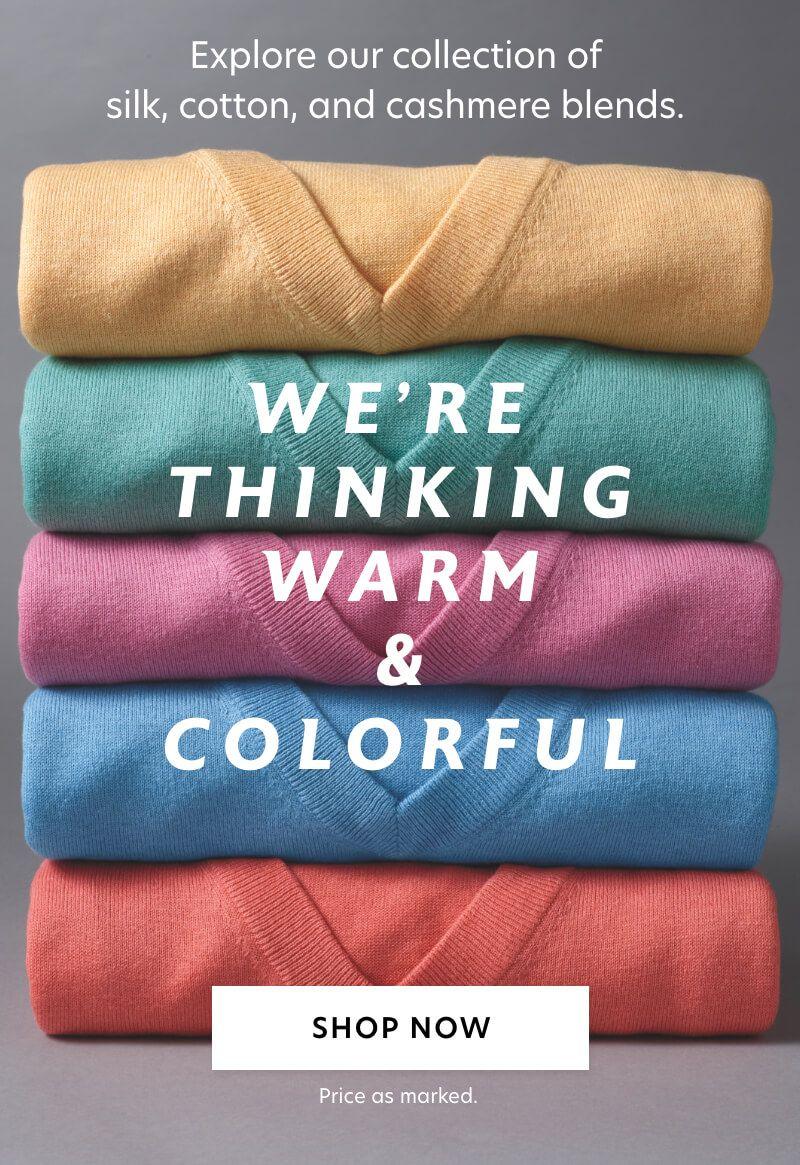 Silk, Cotton & Cashmere Sweaters