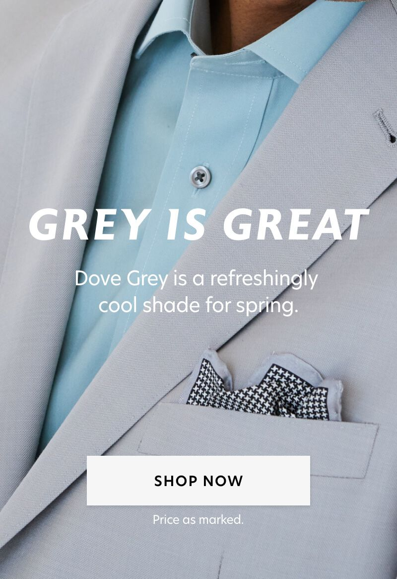 Dove Grey Suits