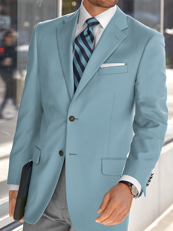 Classic Fit Wool Travel Blazer