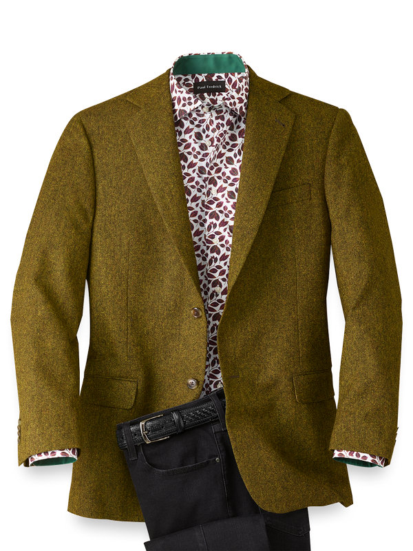 Wool Donegal Notch Lapel Sport Coat