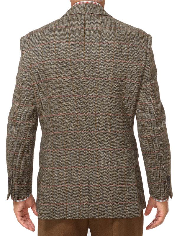 Harris Tweed Windowpane Sport Coat
