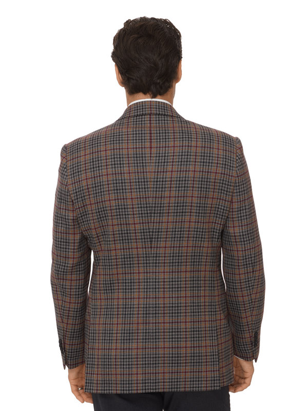 Wool Check Sport Coat