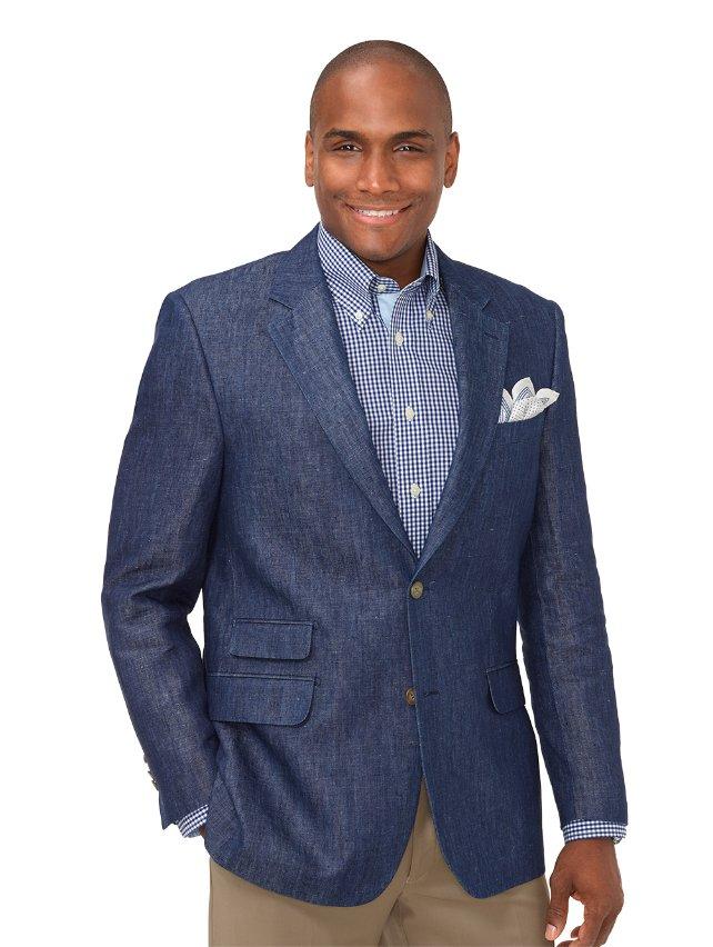 Linen Solid Sport Coat