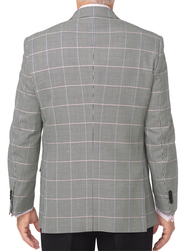 Classic Fit Cotton, Silk & Wool Sport Coat