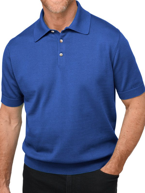 Short Sleeve Supima Polo