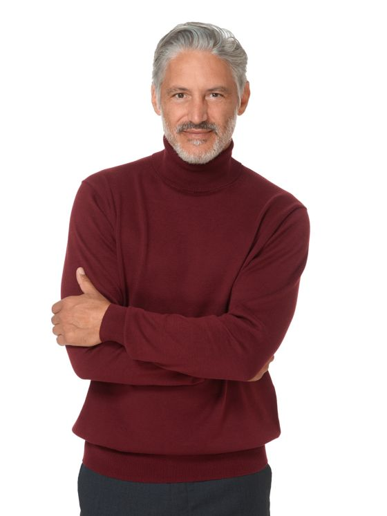 Supima Cotton Turtleneck Sweater