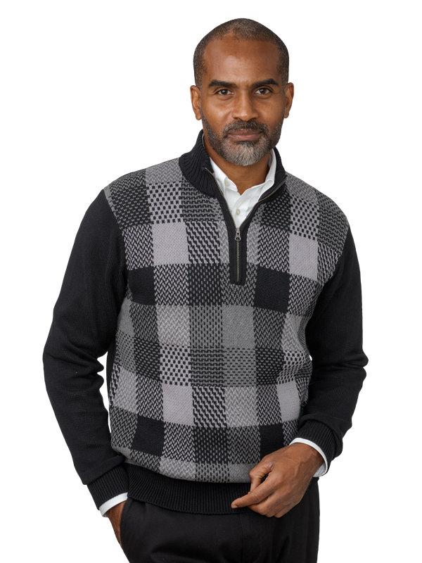 Pullover Half Zip Sweater