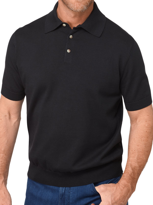 Pima Cotton Short Sleeve Polo